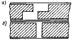 Башмаки магнитов маховика МБ-2 (а) и для МБ-22 (б)