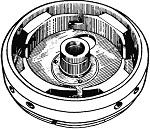 Маховик мотора Вихрь