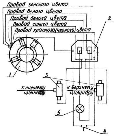 схема системы зажигания лодочного мотора