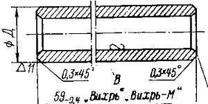 Цилиндропоршневая группа двигателя подвесного мотора Вихрь
