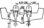 Установка мотора Вихрь на лодку