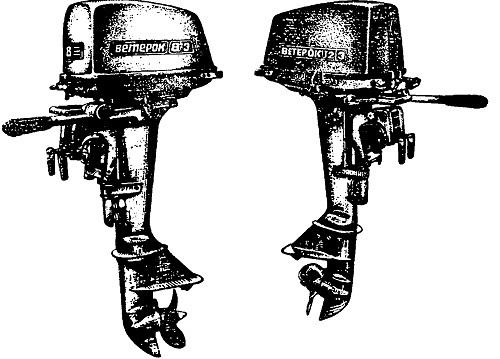 характеристика мотора ветерок 8 и ветерок 12