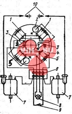 Общая схема магдиио МВ-1