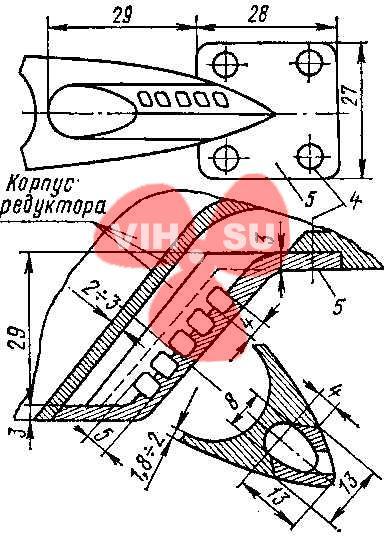 Улучшения гидродинамики мотора Вихрь